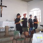 The 4 boys who organised a church project