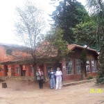 A building donated for the project
